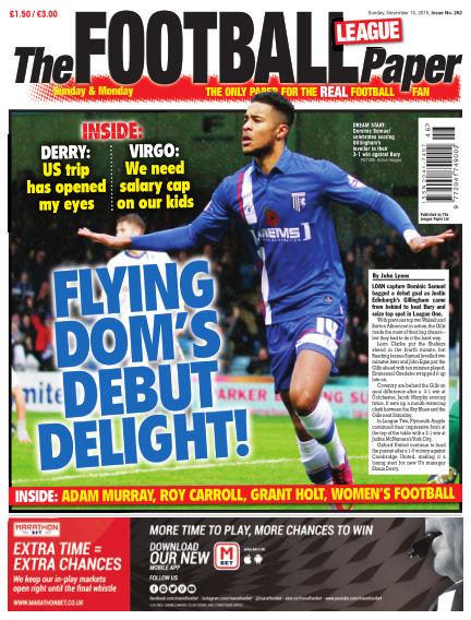 The Football League Paper November 15, 2015 00:00