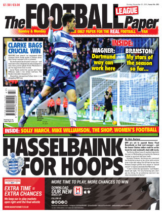 The Football League Paper 22nd November 2015