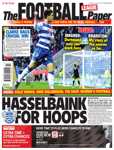 The Football League Paper November 22, 2015 00:00