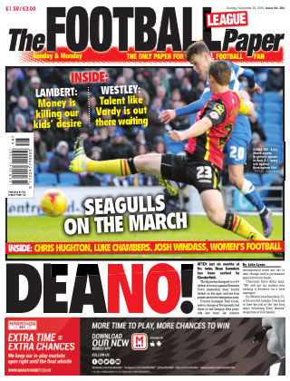 The Football League Paper 29th November 2015