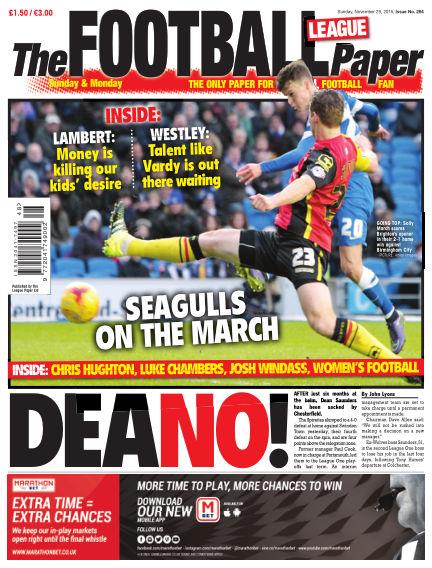 The Football League Paper November 29, 2015 00:00