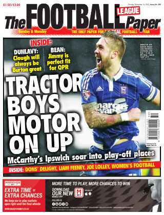 The Football League Paper 13th December 2015