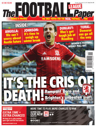 The Football League Paper 20th December 2015