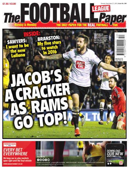 The Football League Paper December 27, 2015 00:00