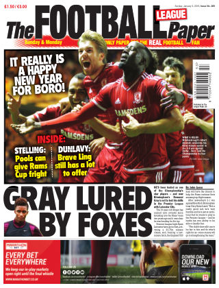 The Football League Paper 3rd January 2016