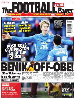 The Football League Paper 10th January 2016