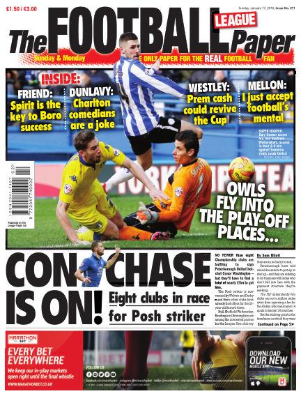 The Football League Paper January 17, 2016 00:00