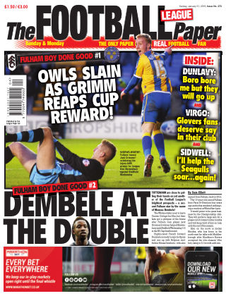 The Football League Paper 31st January 2016