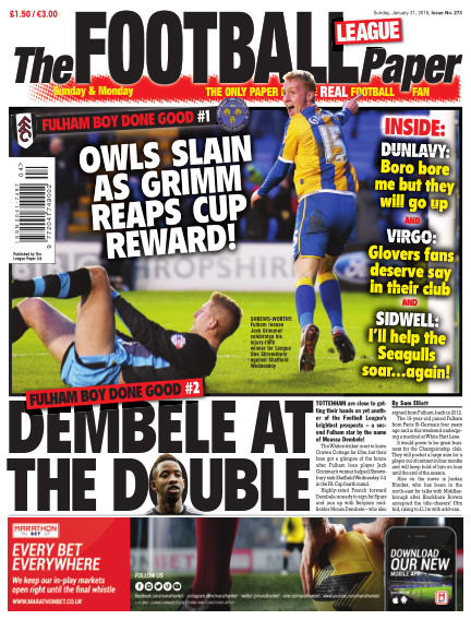 The Football League Paper January 31, 2016 00:00