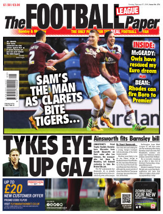 The Football League Paper 7th February 2016