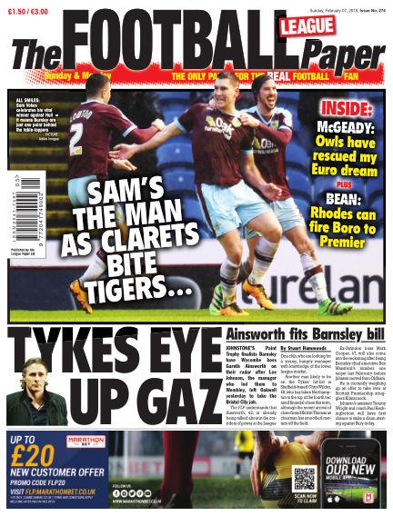 The Football League Paper February 07, 2016 00:00