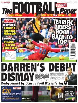 The Football League Paper 14th February 2016