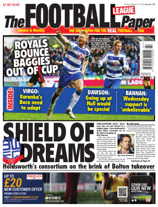 The Football League Paper 21st February 2016