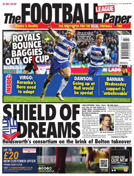The Football League Paper February 21, 2016 00:00