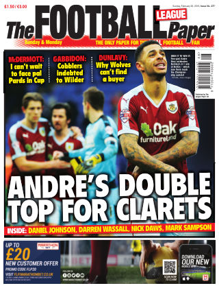The Football League Paper 28th February 2016