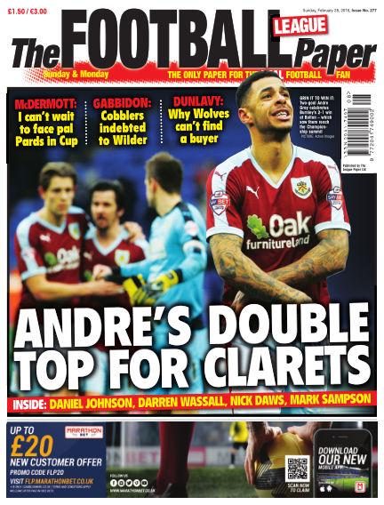 The Football League Paper February 28, 2016 00:00