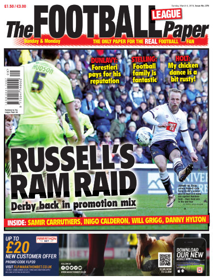 The Football League Paper March 06, 2016 00:00