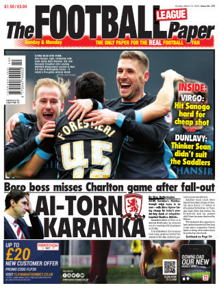 The Football League Paper 13th March 2016