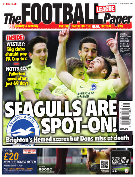 The Football League Paper March 20, 2016 00:00