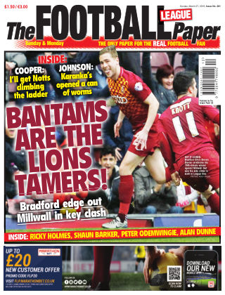 The Football League Paper 27th March 2016