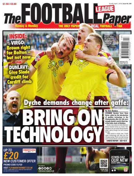 The Football League Paper April 03, 2016 00:00
