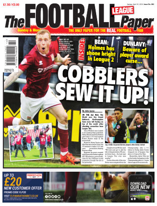 The Football League Paper 10th April 2016