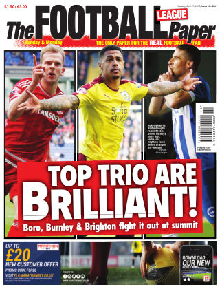 The Football League Paper 16th April 2016