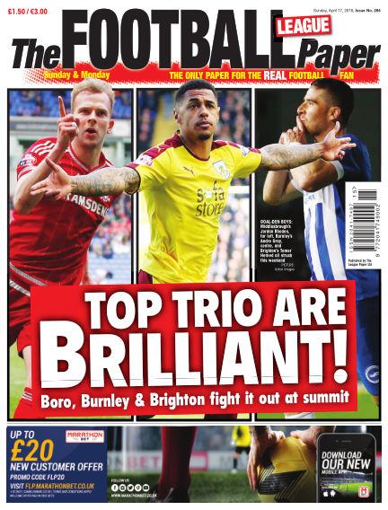 The Football League Paper April 17, 2016 00:00