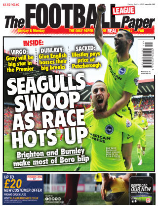 The Football League Paper 24th April 2016