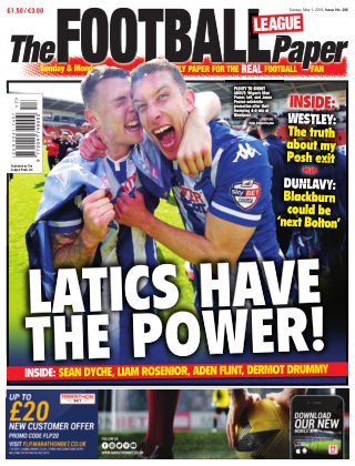 The Football League Paper 1st May 2016