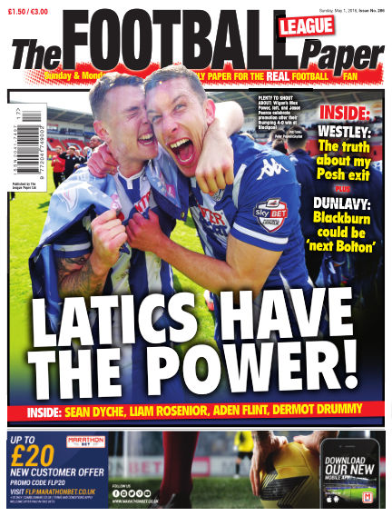 The Football League Paper May 01, 2016 00:00