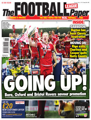 The Football League Paper 8th May 2016