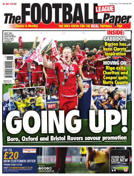 The Football League Paper May 08, 2016 00:00