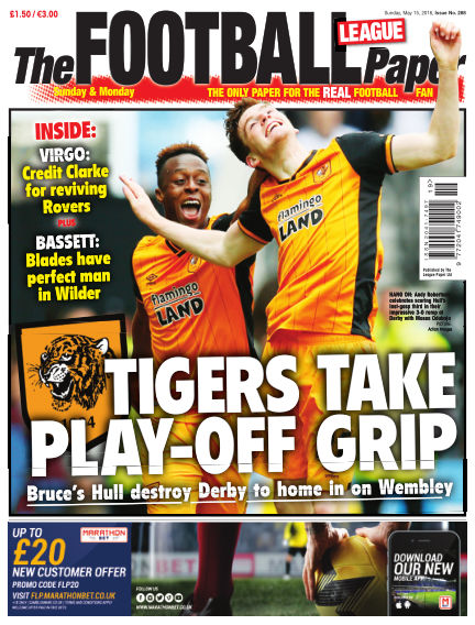 The Football League Paper May 15, 2016 00:00