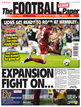 The Football League Paper 22nd May 2016