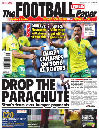 The Football League Paper 7th August 2016