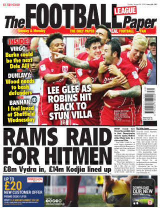 The Football League Paper 28th August 2016