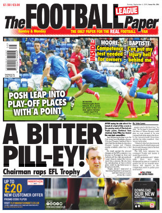 The Football League Paper 4th September 2016