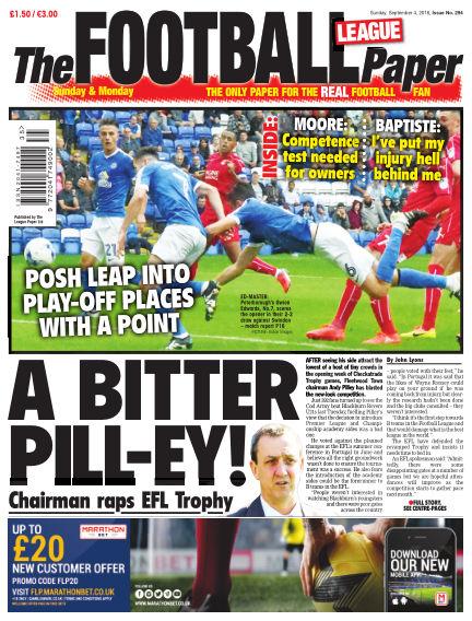 The Football League Paper September 04, 2016 00:00