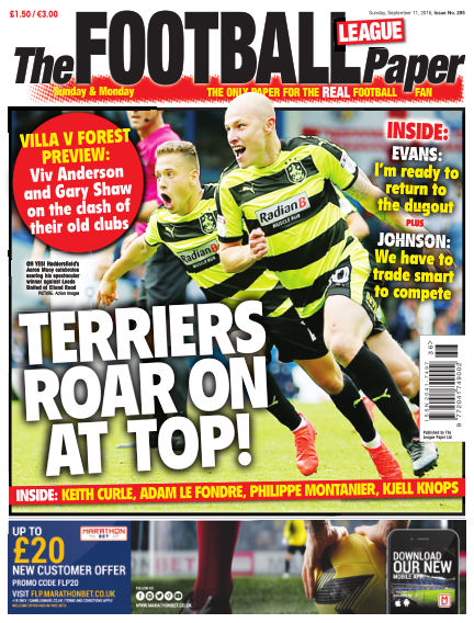 The Football League Paper September 11, 2016 00:00