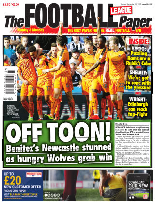The Football League Paper 18th September 2016