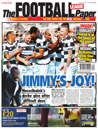 The Football League Paper 2nd October 2016