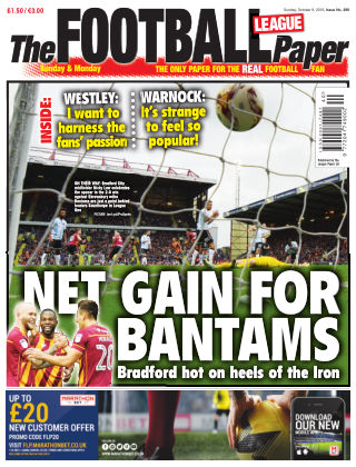 The Football League Paper 9th October 2016