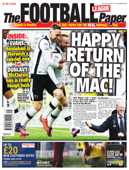 The Football League Paper October 16, 2016 00:00