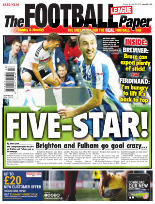 The Football League Paper 30th October 2016