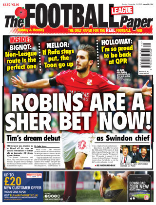 The Football League Paper 13th November 2016