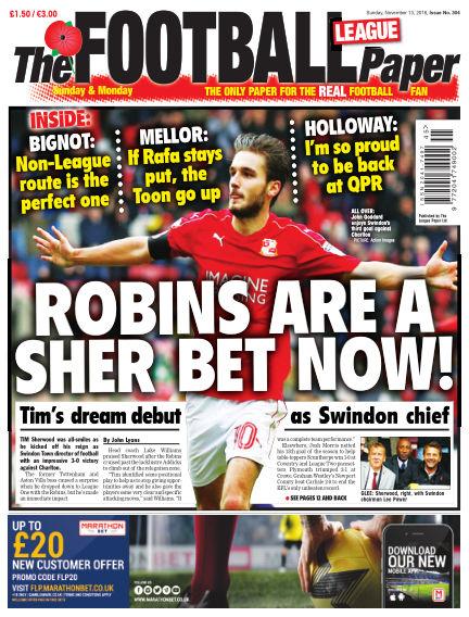 The Football League Paper November 13, 2016 00:00