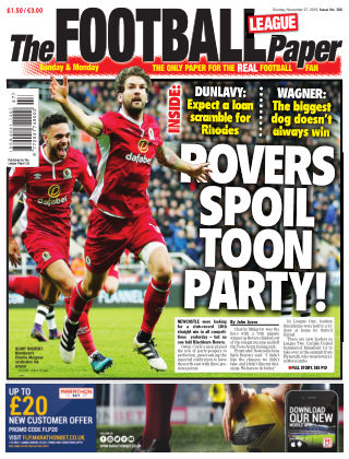 The Football League Paper 27th November 2016