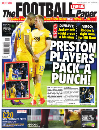 The Football League Paper 4th December 2016