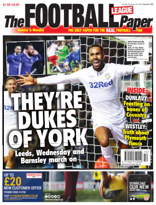 The Football League Paper 18th December 2016